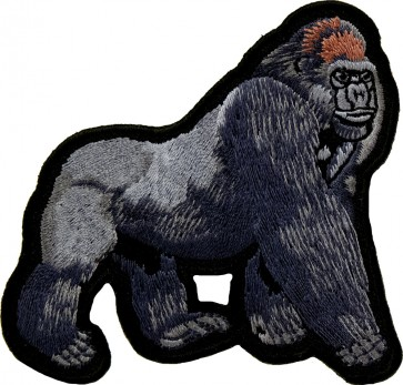 Walking Gorilla Patch, Wild Animals & Gorilla Patches