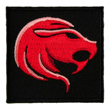 Zodiac Leo Red Lion Embroidered Patch