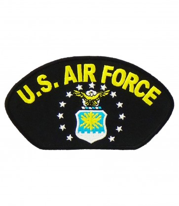 US Air Force Eagle Logo Hat Ball Cap Patch