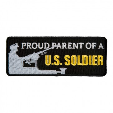 Proud Parent Of A U.S. Soldier Embroidered Patch