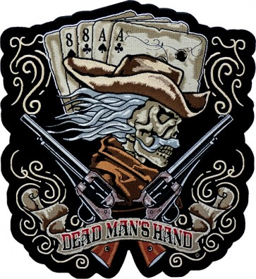 Dead Man's Hand Cowboy Patch