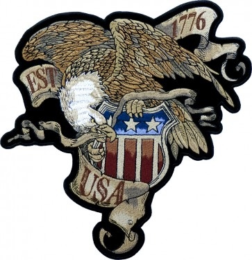 USA Eagle & Crest Large Back Patch