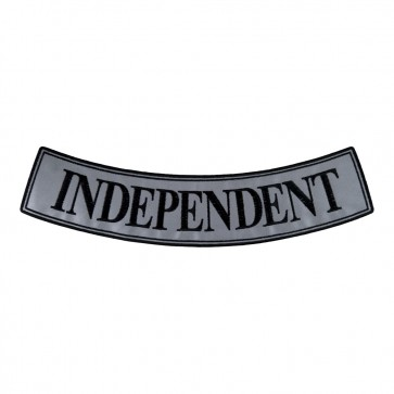 Iron & Sew On Independent Reflective Bottom Rocker Patch