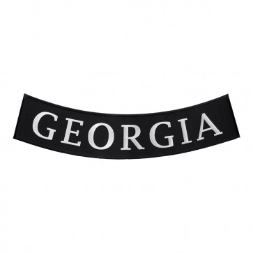 Sew On Georgia State Bottom Rocker Patch