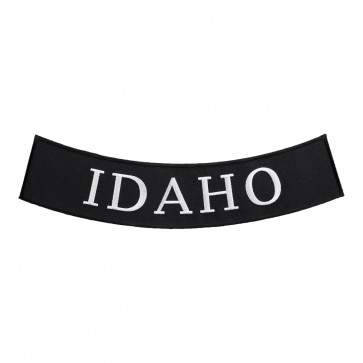 Iron On Idaho State Bottom Rocker Patch