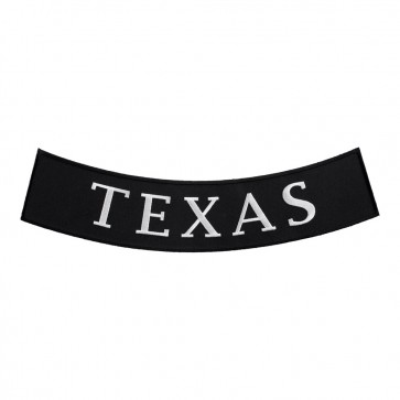 Iron On Texas State Bottom Rocker Patch