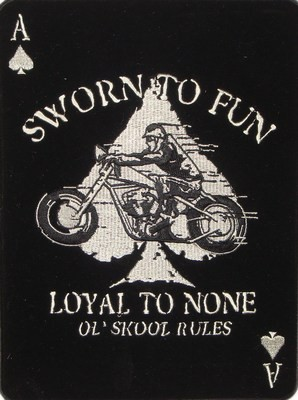 Sworn To Fun Loyal To None Patch, Biker Patches