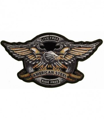 American Steel Eagle Patch, American Eagle Patches