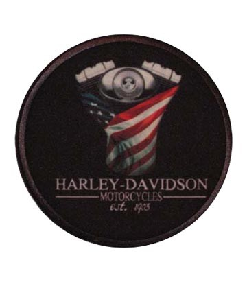 Sew On Harley Davidson Justice Patch