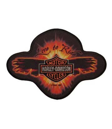 Harley Davidson Ember Wings Sublimated Patches