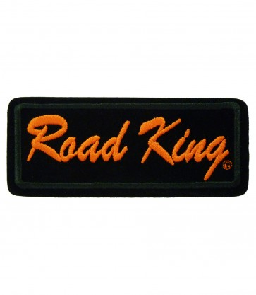 Sew On Harley Davidson Road King Embroidered Motorcycle Patch