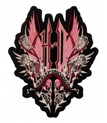 Embroidered Harley Davidson H-D Thorn Patch,