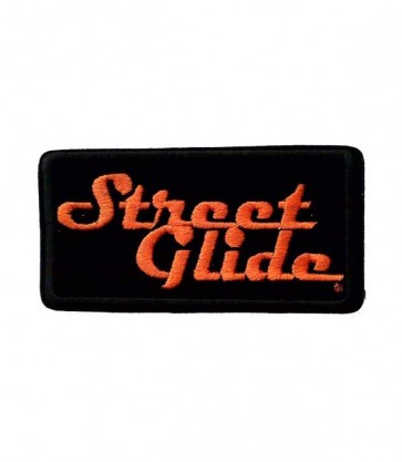 Sew On Harley Davidson Street Glide Embroidered Motorcycle Patch