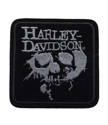 Sew On Harley Davidson Eulogy Embroidered Motorcycle Patch