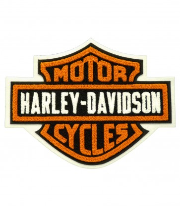 Harley Davidson Chenille Bar & Shield Patch