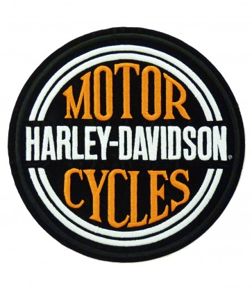 Harley Davidson Motorcycles H-D Circle Name Patches
