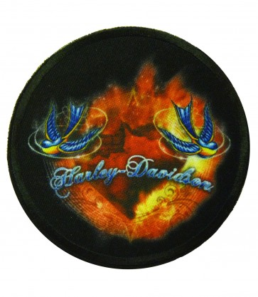 Harley Davidson Prism Sublimated Patch, Harley Patches