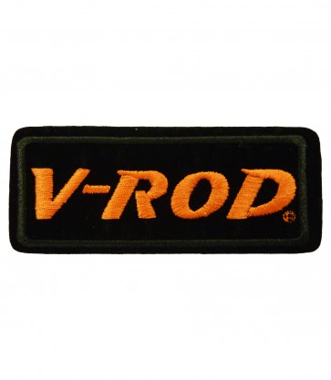 Embroidered Harley Davidson V-Rod Motorcycle Patch