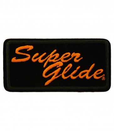 Harley Davidson Super Glide Motorcycle Patch