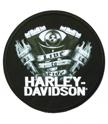 Harley Davidson Downfall Sublimated Patch