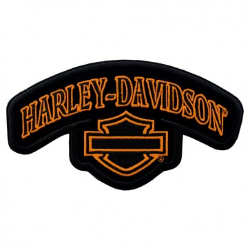 Large Size Harley Davidson Timeless Top Rocker Patch