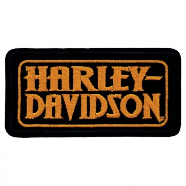 Embroidered Harley Davidson Genuine H-D Seal Motorcycle Patch