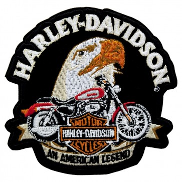Embroidered Harley Davidson Allegiance Motorcycle Patch