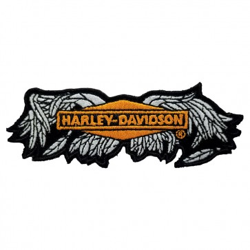 Harley Davidson Broken Wings XS Embroidered Motorcycle Patch