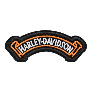 Sew On Harley Davidson Valiant Rocker Patch