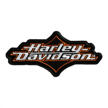 Embroidered Harley Davidson Joy Ride Sew On Motorcycle Patch
