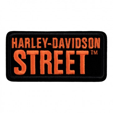 Embroidered Harley Davidson Street Motorcycle Patch