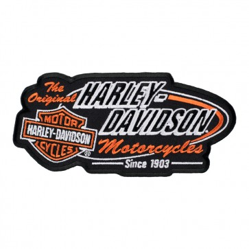 Harley Davidson Retro H-D Bar & Shield Patch