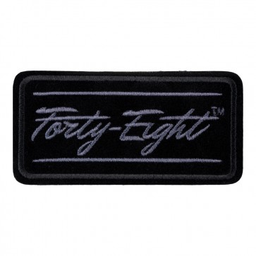 Harley Davidson Forty Eight Subdued Embroidered Motorcycle Patch