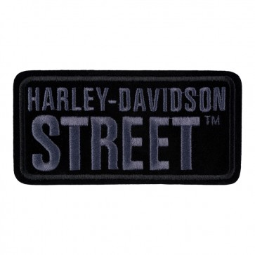 Embroidered Harley Davidson Street Subdued Motorcycle Patch