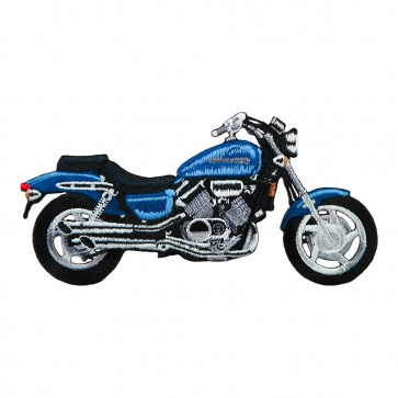 Honda Magna Blue Cruiser Embroidered Motorcycle Patch