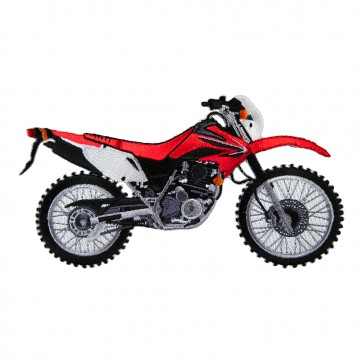 Embroidered Honda Motocross CRF230L Patch