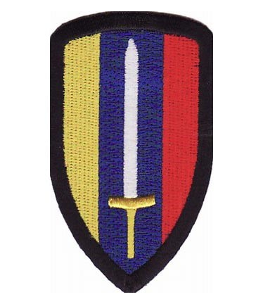 Patch Squad Mens US Army Special Forces Skull, Sword and