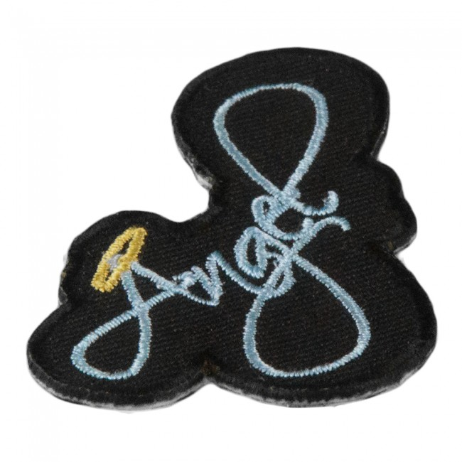 Biker Vest Patches Patches Sew On Service Home Angel Script Halo Cut Out Patch, Ladies Sayings Patches