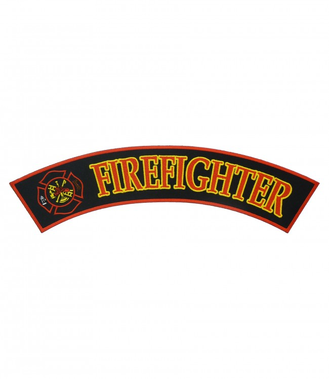 Firefighter maltese cross sleeve patches