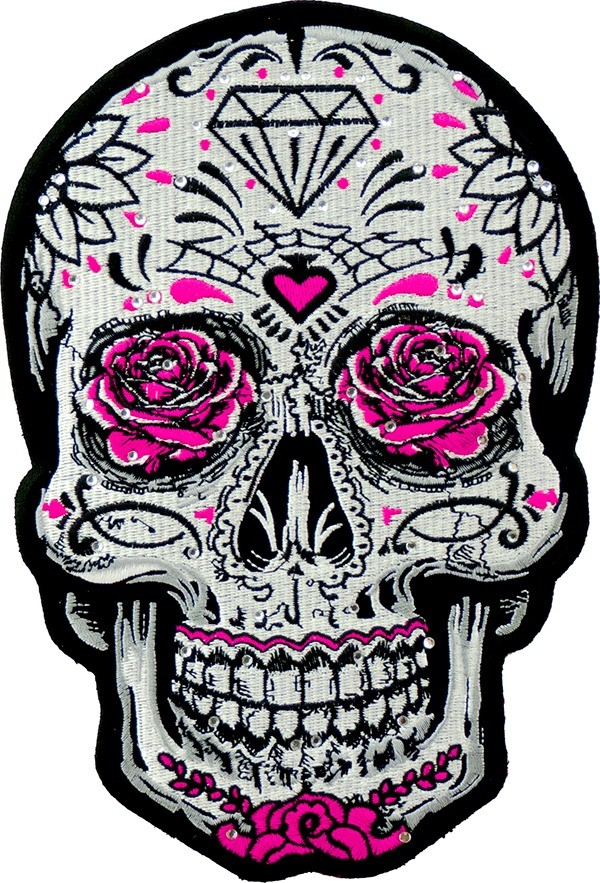 Sugar Skull Roses 4 Sugar Skull Roses Ladies Outlaw Club