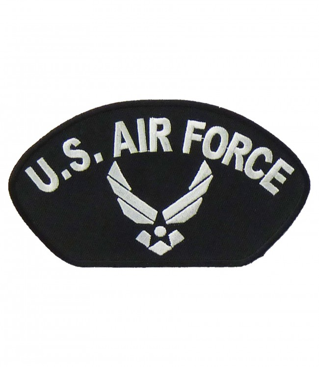 US Air Force Wings Hat Patch, Military Patches