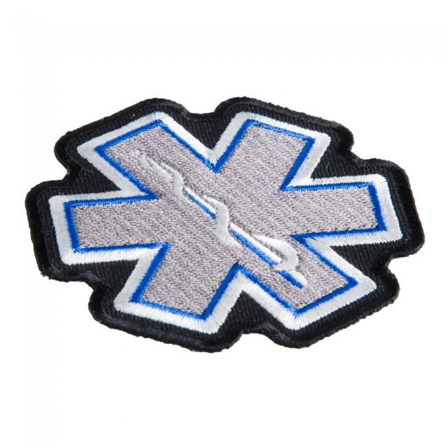 Star Of Life Grey Patch Medical Profession Patches