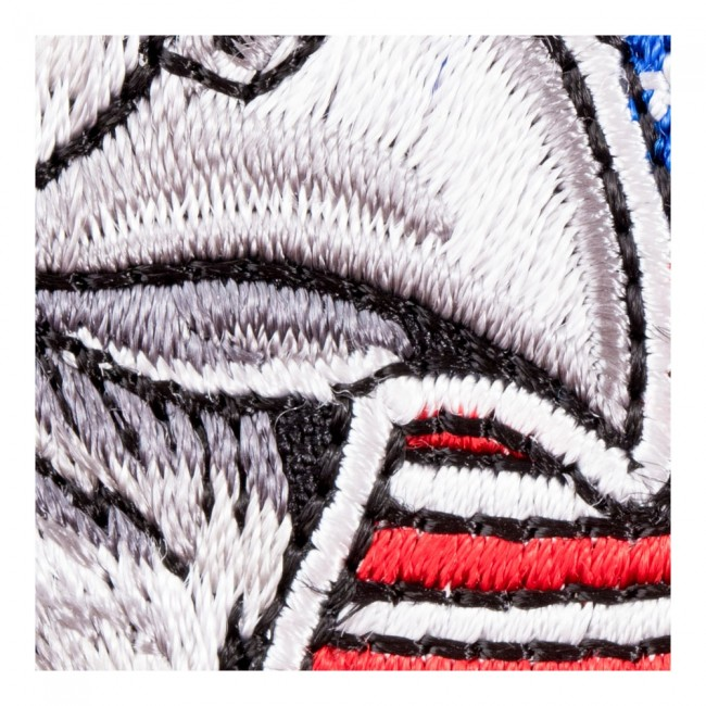 Waving American Flag Eagle Patch Patriotic Us Flag Patches