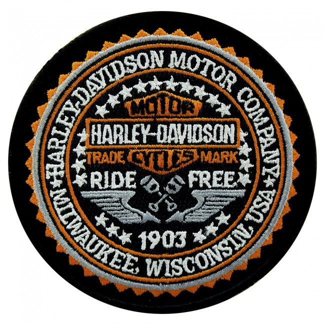 Harley-Davidson Phd Service Trained Technician 4 Patch