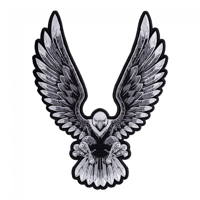 Upwing Subdued Landing Eagle Patch Eagle Back Patches
