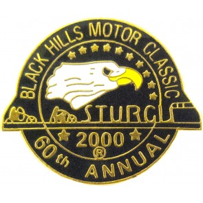 2000 Sturgis 60th Black Hills Motor Classic Eagle Pin