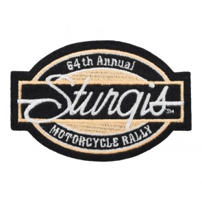 2004 Sturgis Motorcycle Rally 64th Annual Bar & Oval Patch