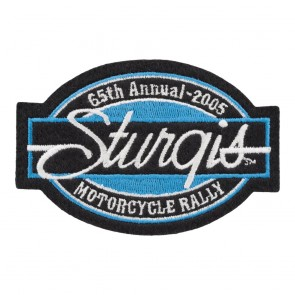 2005 Sturgis Motorcycle Rally 65th Annual Bar & Oval Patch