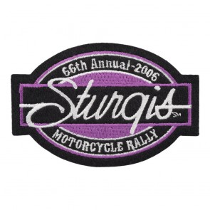 2006 Sturgis Motorcycle Rally 66th Annual Bar & Oval Patch