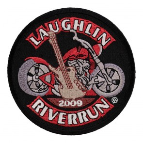 2009 Laughlin River Run Guitar & Motorcycle 27th Anniversary Event Patch